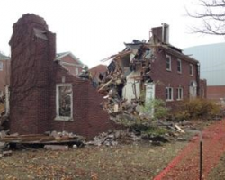 Rambo House is coming down