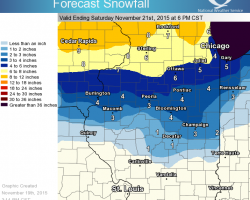 Winter Weather to Hit Central Illinois
