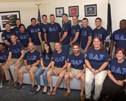 Veteran's Fraternity Fundraise for Memorial