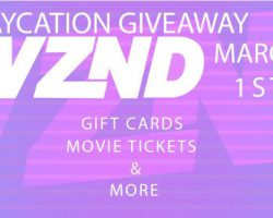WZND's Staycation Giveaway