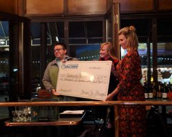 Bruegala gives back in a major way