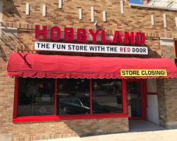 The fun store with the red door is no more