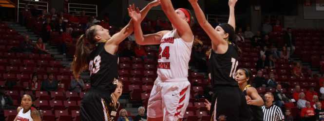 Redbirds soar in their home opener at Redbird Arena