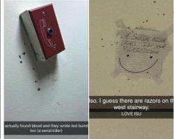 Blood splattered walls creates Illinois State University Police investigation