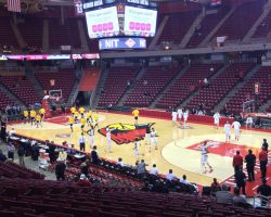 Redbird Arena lower bowl getting new facelift