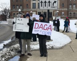 Bloomington-Normal residents frustrated with President Trump, stand up for DACA