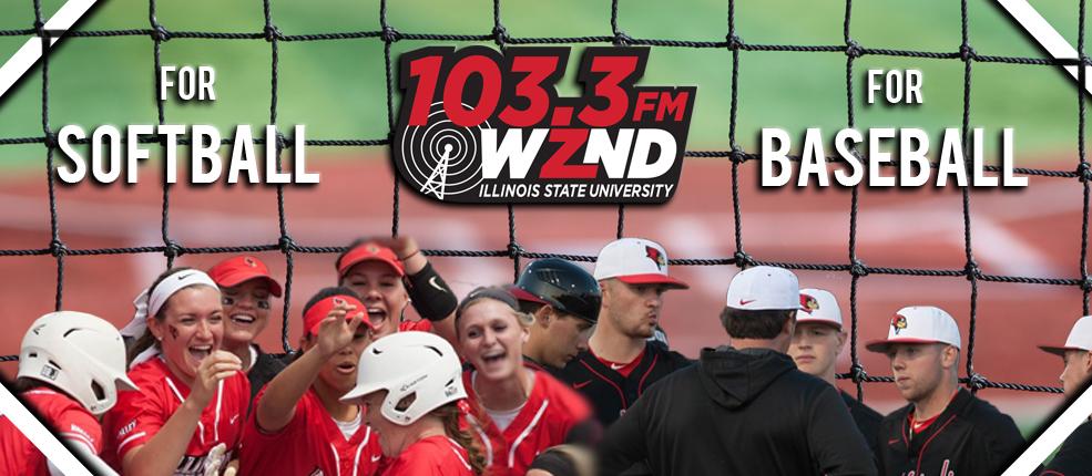Tune into 103.3 WZND For Softball and Baseball