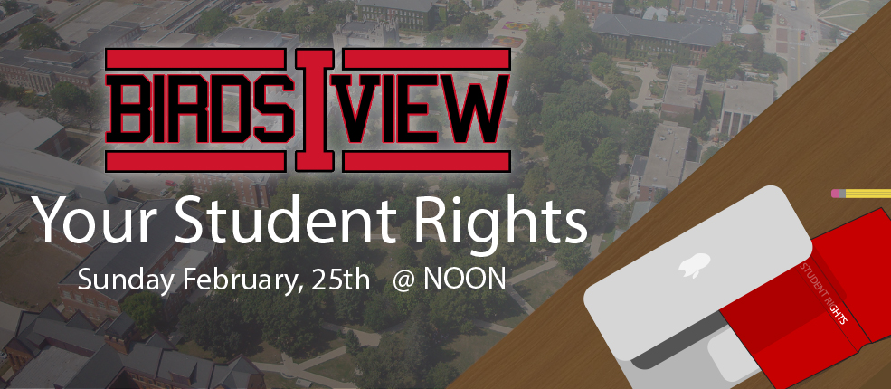 Birds I View your student rights sunday february, 24th @ noon