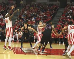 Redbirds defeat the University of Northern Iowa on Throwback Night
