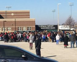 "Bloomington-Normal students ""walk-out"" to protest gun violence"