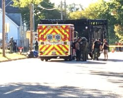 Suspect in Custody, Child Safe after Hostage Stand-off