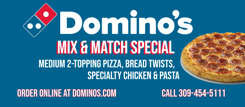 Domino's Mix and Match Special