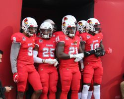 Defense, run-game leads Redbirds to first MVFC win