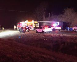 Normal West school bus involved in fatal crash