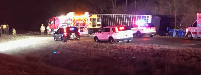 Normal West school bus involved in fatal crash