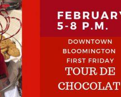 Bloomington hosts Tour de Chocolat