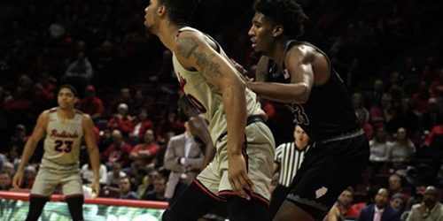 Redbirds tie for first place in front of largest crowd of season
