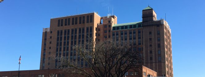 Unidentified company to buy downtown Bloomington State Farm building