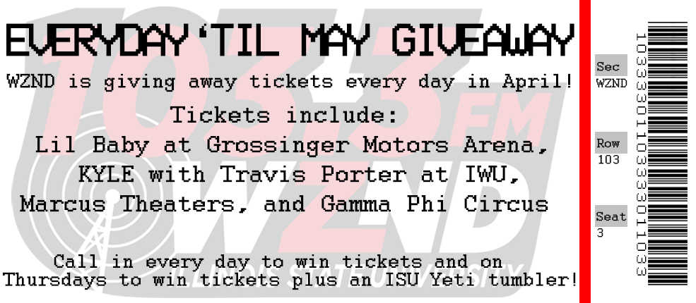 Everyday 'Til May Giveaway